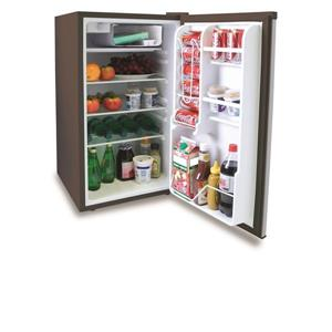 Royal Sovereign Compact Refrigerator - 19-in x 33-in - Stainless Steel