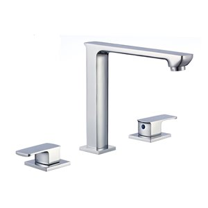 "American Imaginations Faucet Set - Widespread - 6.3"" - Brass - Chrome"