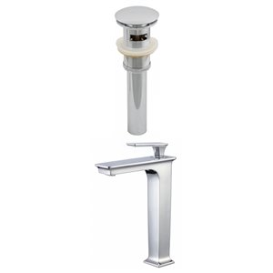 Deck Mount CUPC Approved Brass Faucet Set