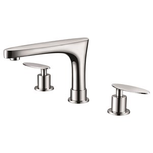 """American Imaginations Faucet Set - Widespread - 5.39"""" - Brass - Chrome"""