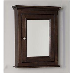 "American Imaginations Perri Medicine Cabinet - 24"" x 30"" - Wood - Walnut"
