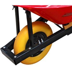 Toolway Pro Yard Wheel Barrow - 6-ft - Steel - Red
