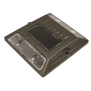 Dock Edge + StarLite™ Solar Capacitor Light - Gray