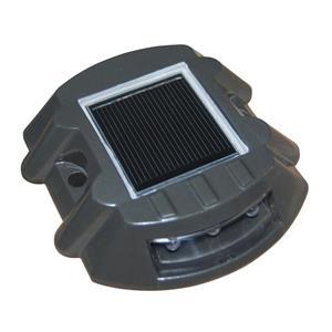 Dock Edge + StarLite™ Solar Capacitor Light - Polycarbonate - Gray