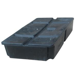 "Dock Edge + Titan Dock Float - 8"" - Black"