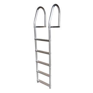 Dock Edge + ECO Weld Free Dock Ladder - 5 Steps - Gray