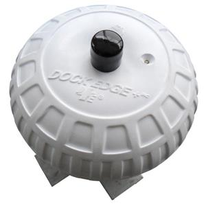 "Dock Edge + Inflatable Dock Wheel - 9"" - White"