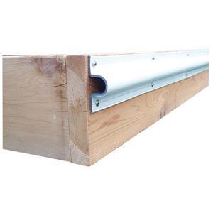 Dock Edge + C Guard Profil - 10' - PVC - White