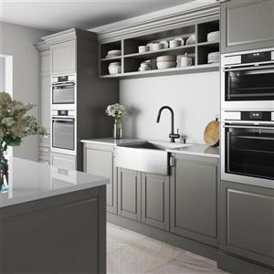 VIGO Kitchen Sink With Faucet - Grid - Strainer - 30-in