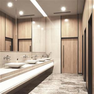 Vigo Vessel Bathroom Sink with Wall Mount Faucet - White