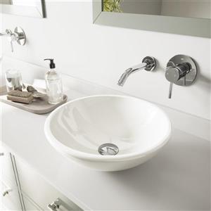Elizabeth Phoenix Stone Vessel Bathroom Sink Set