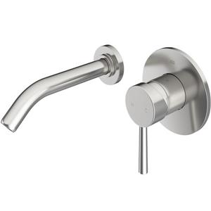 Vigo Olus Wall Mount Bathroom Faucet In Brushed Nickel