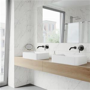 Vigo Olus Wall Mount Bathroom Faucet With Pop-Up