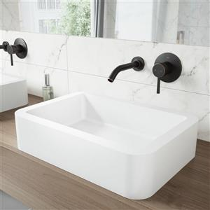 Olus Single Lever Wall Mount Basin Faucet