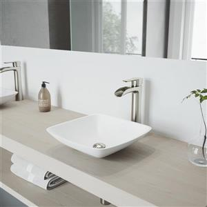 Vigo Niko Vessel Bathroom Faucet In Brushed Nickel