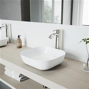 Vigo Otis Vessel Bathroom Faucet In Brushed Nickel