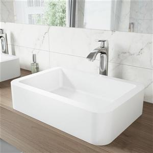 Vigo Linus Vessel Bathroom Faucet In Chrome