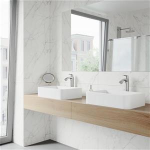 Vigo Linus Vessel Bathroom Faucet In Brushed Nickel