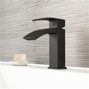 Vigo Single Hole Bathroom Faucet Satro - Matte Black