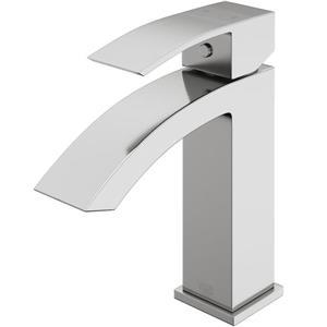 Vigo Single Hole Bathroom Faucet Satro - Brushed Nickel