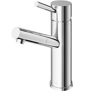 Vigo Norma Single Hole Bathroom Faucet - Chrome