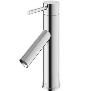 Vigo Single Hole Bathroom Faucet Alicia - Chrome