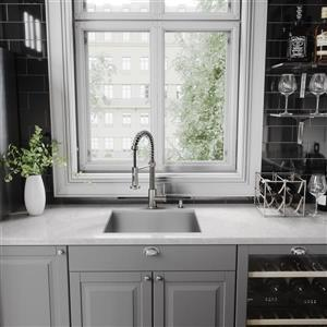 VIGO Edison Pull-Down Spray Kitchen Faucet