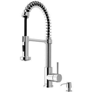 VIGO Edison Pull-Down Spray Kitchen Faucet