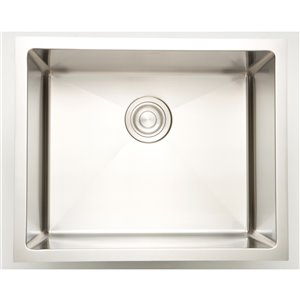 """American Imaginations Undermount Sink - 19"""" x 18"""" - Stainless Steel"""