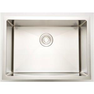 "American Imaginations Undermount Sink - 22"" - Stainless Steel"