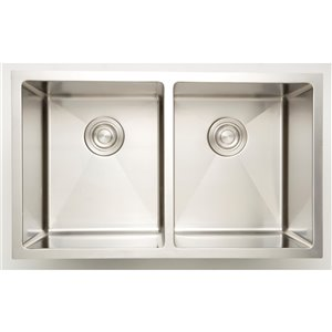 """American Imaginations Undermount Sinks - 30"""" - Stainless Steel - Chrome"""