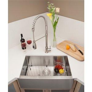 "American Imaginations Undermount Single Sink - 29"" x 19"" - Stainless Steel"