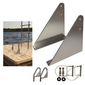 Multinautic 15529 Flip-Up Kit for Dock Ladder,15529