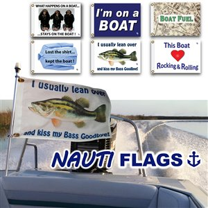 "Multinautic 35702 ""Lost Shirt"" NAUTI Funny Flag,35702"