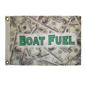 """Multinautic 35704 """"Boat Fuel"""" NAUTI Funny Flag,35704"""