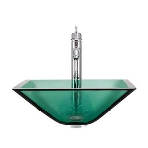 MR Direct Emerald Bathroom 718 Vessel Faucet Ensemble,603-E-