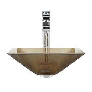 MR Direct Taupe Bathroom 721 Vessel Faucet Ensemble,603-TAU-