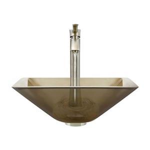 MR Direct Taupe Bathroom 726 Vessel Faucet Ensemble,603-TAU-