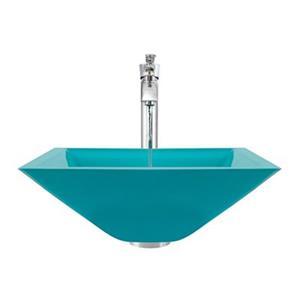 MR Direct Turquoise Bathroom 726 Vessel Faucet Ensemble,603-