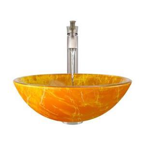 MR Direct Bathroom 726 Vessel Faucet Ensemble,605-726-BN