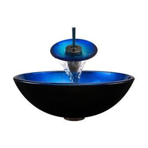 MR Direct Bathroom Waterfall Faucet Ensemble,608-WF-ORB