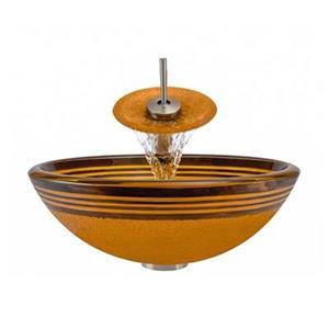MR Direct Bathroom Waterfall Faucet Ensemble,615-WF-BN
