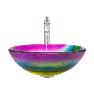 MR Direct Bathroom 726 Vessel Faucet Ensemble,619-726-BN