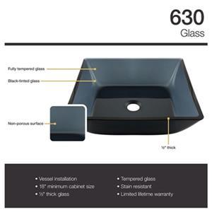 MR Direct Bathroom 718 Vessel Faucet Ensemble,630-718-C
