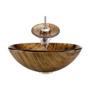 MR Direct Bathroom Waterfall Faucet Ensemble,632-WF-BN