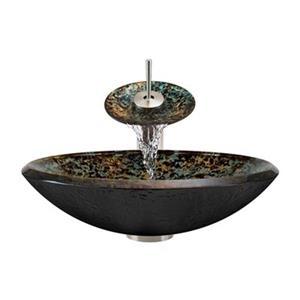 MR Direct Bathroom Waterfall Faucet Ensemble,634-WF-BN