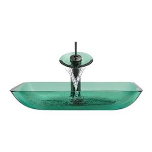 MR Direct Emerald Bathroom Waterfall Faucet Ensemble,640