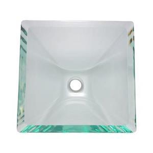 MR Direct Square Glass Vessel Sink,603-Crystal