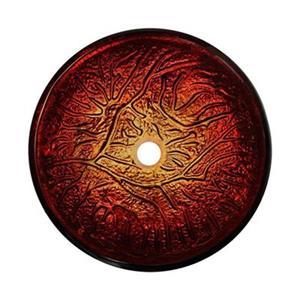 MR Direct Red Lava Glass Vessel Bathroom Sink,618