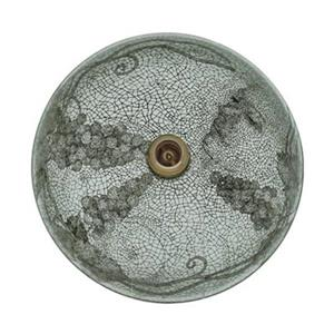 MR Direct Cracked Vineyard Glass Vessel Bathroom Sink,624